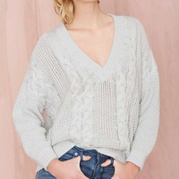 Lay Low Oversized Sweater