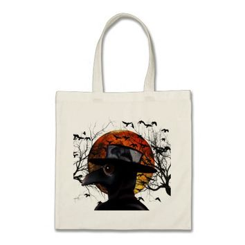 Bird-man Tote Bag