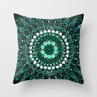 :: Mint Kiss :: Throw Pillow by GaleStorm Artworks