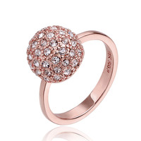 Shambala Rose Gold Plated Ring