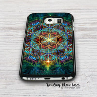Flower Of Life Samsung Galaxy S6 Case Cover for S6 Edge S5 S4 Case