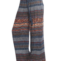 Gyspy Stripe Wide Leg Pant | Wet Seal