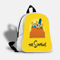 iOffer: The Simpsons Backpack Travel Bags School Bag for sale