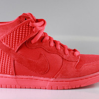 Nike Men's Dunk Hi CMFT Premium QS Red October