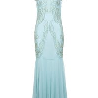Embellished Maxi Dress - Dresses - Clothing