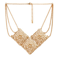Pointed Filigree Necklace