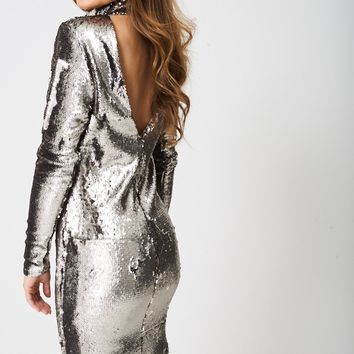 Embellished Disco Ball Dress Ex-Branded