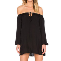 Motel Heve Dress in Black