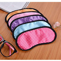 Eye Mask Soft Sleeping Blindfold Shade Cover Travel Comfortable Protection Pop J
