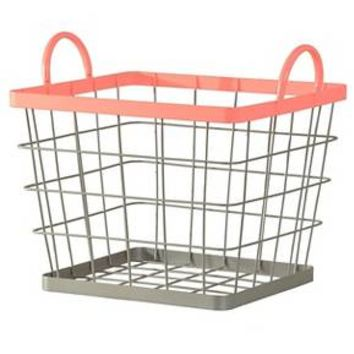 Wire Milk Crate Large Pink - Pillowfort™