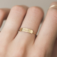 Astoria Personalized Ring
