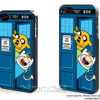 adventure time public police box Custom case For iphone 4/4s,iphone 5,Samsung Galaxy S3,Samsung Galaxy S4 by minorucase on etsy