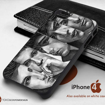 One Directoin Sketh Face for iPhone 4/4S, iPhone 5/5S, iPhone 6, iPod 4, iPod 5, Samsung Galaxy Note 3, Galaxy Note 4, Galaxy S3, Galaxy S4, Galaxy S5, Galaxy S6, Phone Case