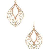 Filigree Fancy Drop Earrings