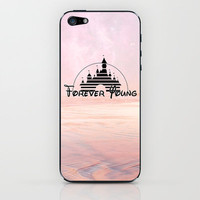 Disney forever young iPhone & iPod Skin by Tilly | Society6