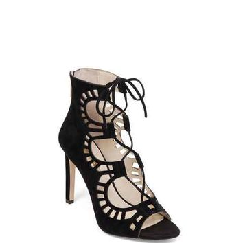 Carnival Lace-Up Bootie