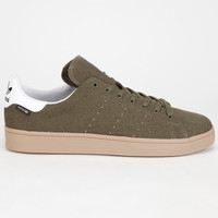 Adidas Stan Smith Vulc Hemp Mens Shoes Olive  In Sizes