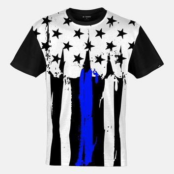 Snow Brushes Thin Blue Line Jersey (Ships in 2 Weeks)