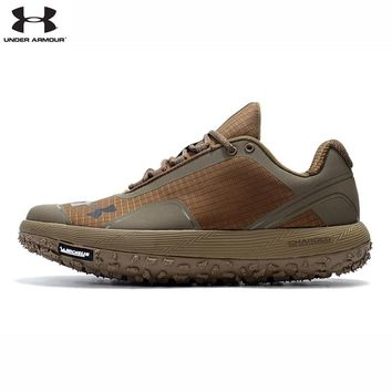 Under Armour Men UA Fat Tire None-Slip Unique Rubber Bottom Outdoor Sport Cross-Country Running Shoes Walking Cushion Sneakers