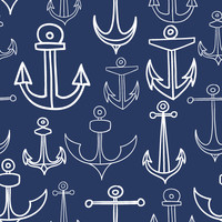 Removable Wallpaper - Anchors Aweigh