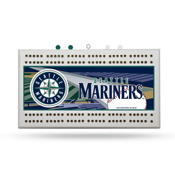 MLB Seattle Mariners Cribbage Board