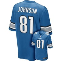 Nike Detroit Lions Calvin Johnson Game NFL Replica Jersey