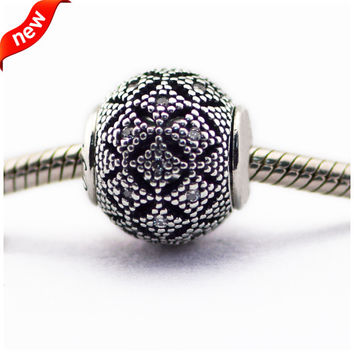 Fits Essence Bracelet Charms Original Beads for Jewelry Making Compassion Essence Charm 100% 925 Sterling Silver Jewelry FE038