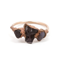 Tri Stone Spinel Ring