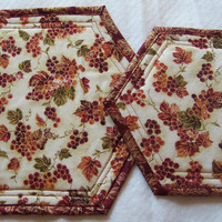 Trivet, Hot Pad, Small and Large Size, Fall Decor