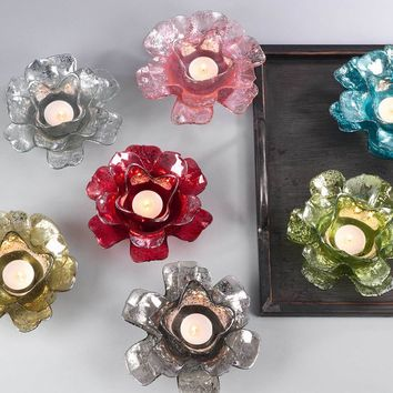 Rose Tealight Candle Holder