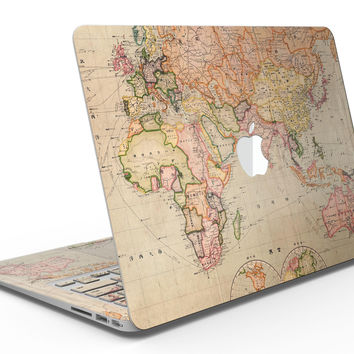 The Eastern World Map - MacBook Air Skin Kit