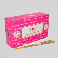 Satya Rose Incense Sticks 180 Gram Set of 12 Boxes of 15 Gram on RoyalFurnish.com