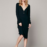 Free People Womens Honey Bee Tee Dress