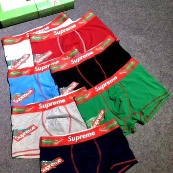 LACOSTE Men's O'Dal Face Comfortable Breathable Boxer Briefs Three-Piece Set