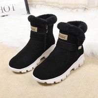 UGG Women Fashion new product wool  bandage short boots