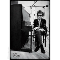 Bob Dylan - Piano Poster on Sale for $6.95 at HippieShop.com