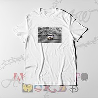 OJ Simpson Highway Speed Chase Adult Unisex Tee T Shirt