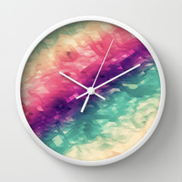 sea colors Wall Clock by Msimioni