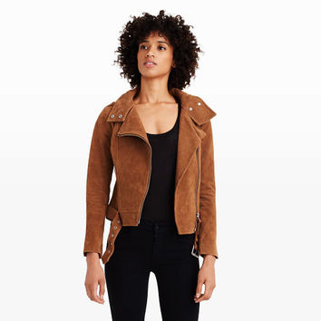 Women | Jackets and Vests | Mackage Hania Suede Jacket | Club Monaco Canada