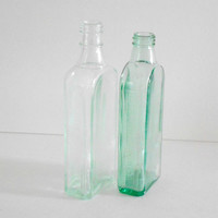 VIntage Glass Bottles Chattanooga Medicine CO Mc Elrees Cardui