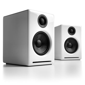 Audioengine: A2+ Powered Desktop Speakers - White (A2+W)