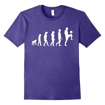 Evolution Of Man To Soccer Player Funny T-Shirt