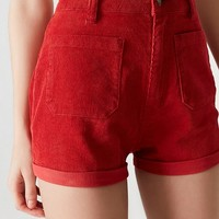 Rolla's X UO High-Rise Corduroy Short | Urban Outfitters