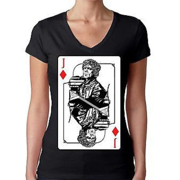 Tyrion Lannister Jackal Card  Women's Sporty V Shirt