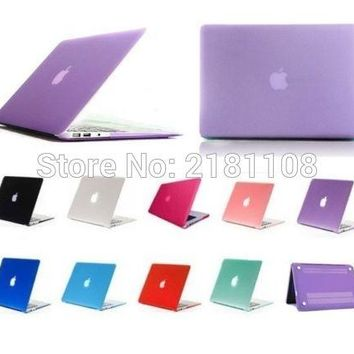 New Plastic Glossy Crystal Hard Case Cover For Apple Mac Book Pro with Retina Display 13.3inch A1502 A1425