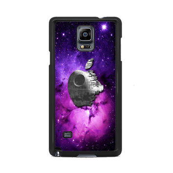 Star Wars Inspired Death Star Apple in Galaxy Samsung Galaxy Note 3|4  Cases
