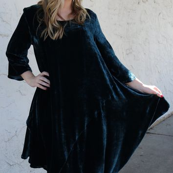 Naida Tunic Teal by Bryn Walker