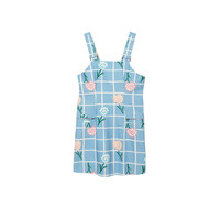 carnation overall dress ~