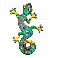Lizard Gekko Salamander Retro Hippie Hippy Boho 70s Appliques Hat Cap Polo Backpack Clothing Jacket Shirt DIY ... Iron on Patch Great Gift for Men and Women/ramakian