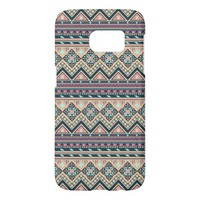 Colorful Abstract Aztec Tribal Pattern Samsung Galaxy S7 Case